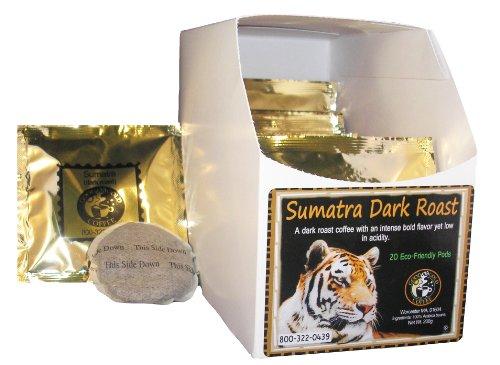 Good As Gold Sumatra Dark Roast Coffee Pods (3 Pack = 60 Pods)