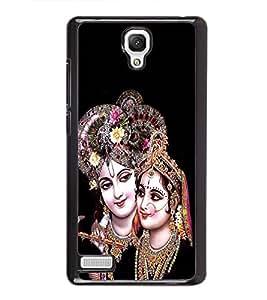 Radha Krishna 2D Hard Polycarbonate Designer Back Case Cover for Xiaomi Redmi Note :: Xiaomi Redmi Note 4G