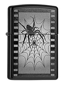 60000082 Zippo Feuerzeug Spider Web Film mit persönlicher Gravur