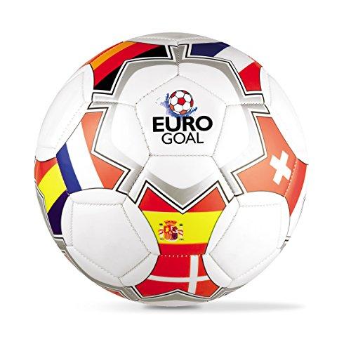 MONDO Pallone Cuoio Size Euro Flags 5 300 G. 13744