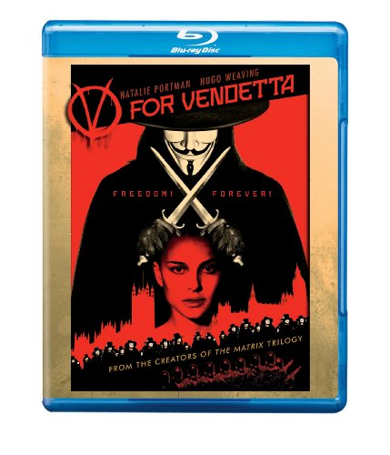 Cover art for  V for Vendetta [Blu-ray]