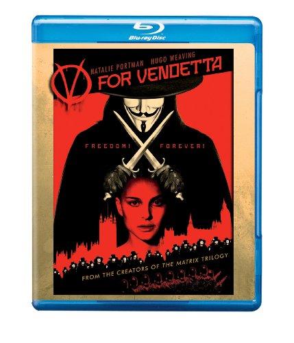Cover art for  V for Vendetta [Blu-ray]