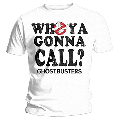 GHOSTBUSTERS - WHO YA GONNA CALL? -