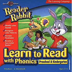 Reader Rabbit Learn to Read With Phonics (Preschool & Kindergarten)