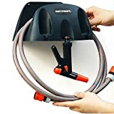 Garden Wall-mountable Water Hose Holder Spray Nozzle Hanger Organizer