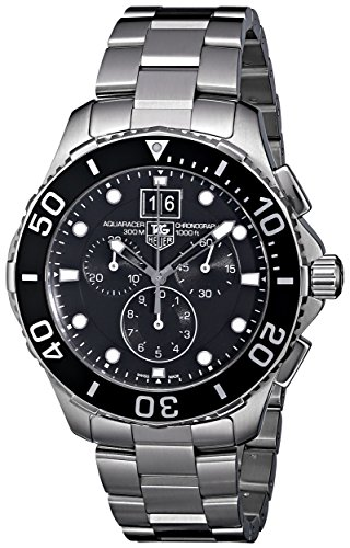 TAG Heuer Men's CAN1010BA0821 Aquaracer Chronograph Watch image