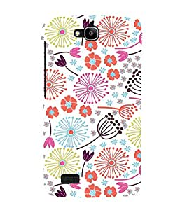 Flower Pond Art 3D Hard Polycarbonate Designer Back Case Cover for Huawei Honor Holly :: Honor Holly