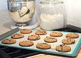 Silicone Baking Mat Set(2)US Standard Half Sheet - Professional Grade Non Stick Baking Cookie Sheet