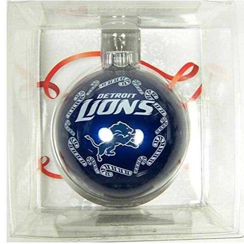 NFL Detroit Lions Traditional 2 5/8″ Ornament