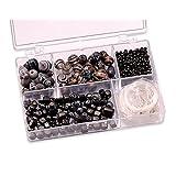 """KnorrPrandell 6049610 Sortimentsbox Glasperlen, 11.5 x 7.5 x 2.5 cm, schwarzvon """"Knorr Prandell"""""""