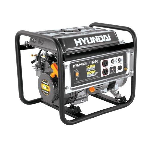 Hyundai HHD1250 2.4 HP Portable Generator, 1250-Watt