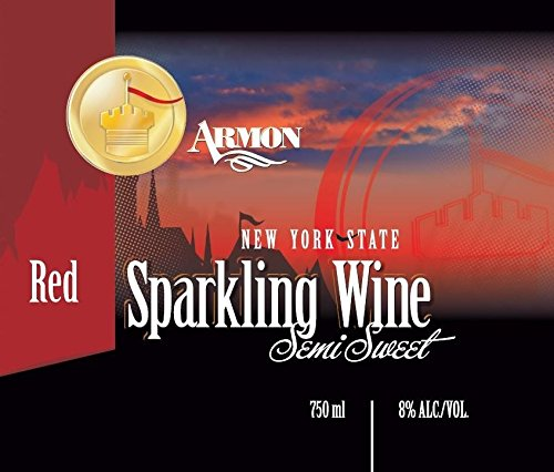 Nv Armon New York Red Sparkling 750 Ml