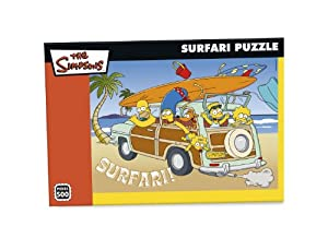 Paul Lamond Games Simpsons 500 Piece puzzle Safari