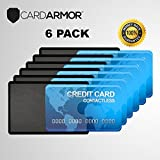 RFID Blocking Sleeve - Credit Card Protector Sleeves, REDESIGNED CLEAR RFID sleeve women, credit cards holder for Passport, Smart card, Travel wallet men, Stop Identity Theft RFID Reader, FREE eBook