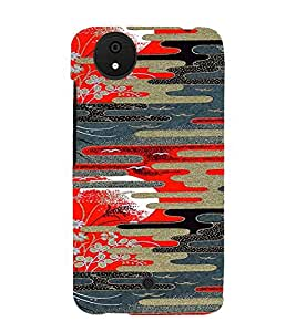 PrintVisa Dusk & Dawn Pattern 3D Hard Polycarbonate Designer Back Case Cover for Micromax Canvas Android A1