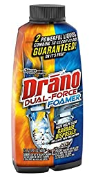 Drano Professional Strength Foamer Clog Remover 17 oz (502 ml),5pk