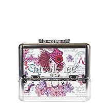 Nicole Lee Priscilla 10 Inch Cosmetic Aluminum Case with Mirror, Sunny White, One Size
