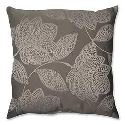 Pillow Perfect Beatrice Jute Floor Pillow, 24.5-Inch