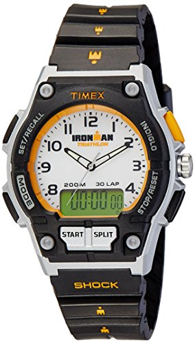 Timex Men's IRONMAN Endure Combo Shock 30-Lap Watch #T5K200 (Timex Digital Analog compare prices)