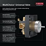 Delta R10000-UNBXHF Multichoice Universal Shower Only Valve Body