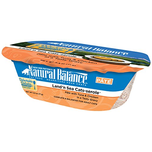 Natural Balance Delectable Delights Land 'n Sea Cat-serole Cat Paté Formula