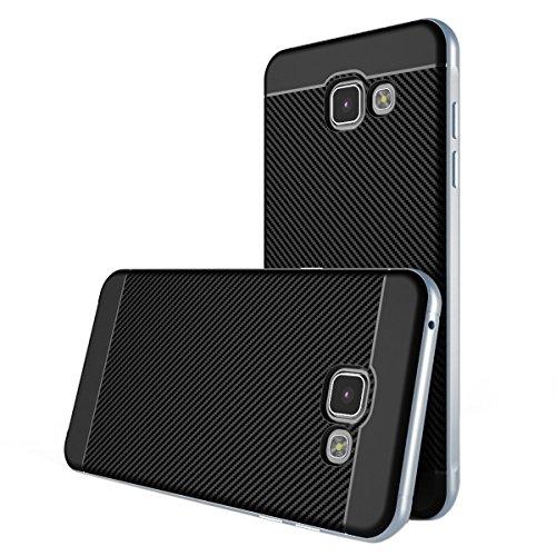 """Cover Samsung Galaxy A5 2016 , ivencase [Stile Anti-Scratch] [Hybrid Silicone + Elegante PC Bumper] Premio Structure Doppio Strato Armatura Protettiva strane Custodia per Samsung Galaxy A5 (2016) 5.2"""""""