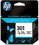 HP 301 - Cartucho de tinta original,...