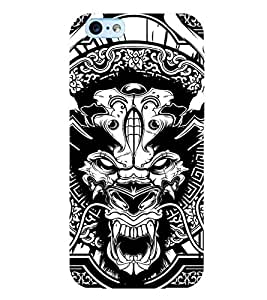 printtech Horror 2 Back Case Cover for Apple iPhone 6 Plus