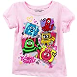 "Yo Gabba Gabba ""Get the Sillies Out"" Pink Toddler T-Shirt"