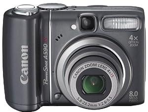 Canon PowerShot A590 IS appareil photo numérique bridge 8 Mpix Zoom optique 4x stabilisé