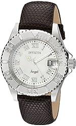 Invicta Women's 18398SYB Angel Analog Display Swiss Quartz Brown Watch