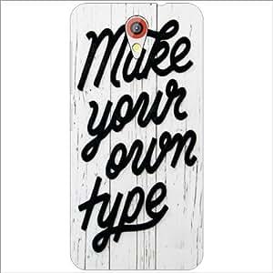 HTC Desire 620 Back Cover - Make Your Hope Designer Cases