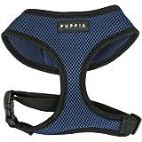 Puppia Soft Dog Harness, Royal Blue, Small