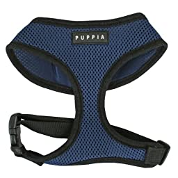 Puppia Soft Dog Harness, Royal Blue, X-Large
