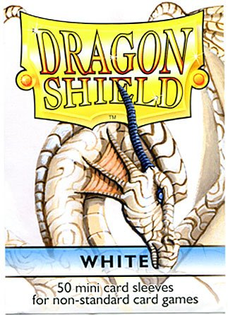 Dragon Shield Mini Card Sleeves White 50 Count - 1
