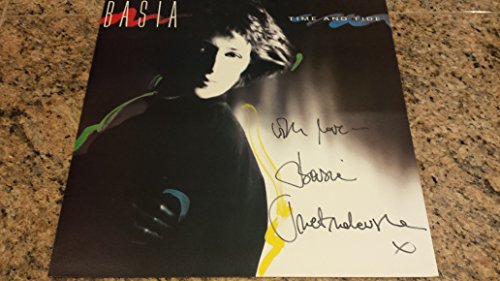 "* BASIA * signed ""Time & Tide"" album flat / UACC RD # 212"