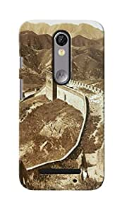 CimaCase Great Wall Of China Designer 3D Printed Case Cover For Motorola Moto X Force