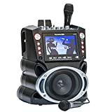 Karaoke USA GF845 Bluetooth Karaoke System and 7