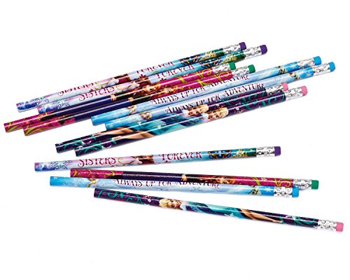American Greetings Frozen Party Accessories, Pencils, 12 Count