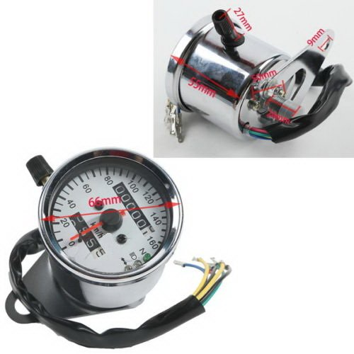 Signal Light LED Backlight Dual Odometer Speedometer for Universal Motorcycle (400ex Headlight Bulbs compare prices)