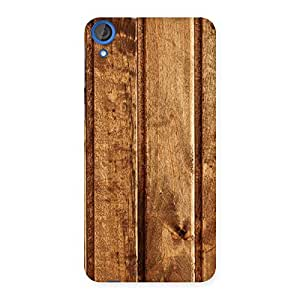 Stylish Wood Texture Back Case Cover for HTC Desire 820s