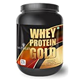 CRD Ayurveda Whey Protein Gold  Whey Protein Supplement - 1 Kg (Mango)