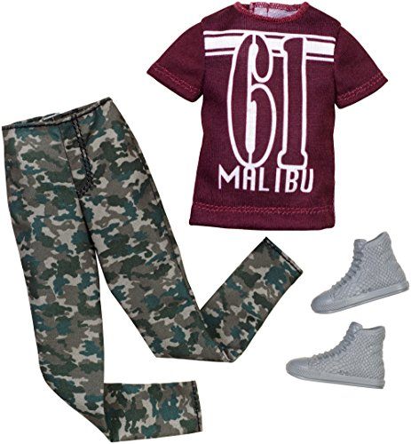 Barbie Ken Fashion Pack Camouflage Set - 1