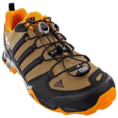 Adidas Outdoor Men's Terrex Swift R Earth/Black/EQT Orange Sneaker 12 D (M)