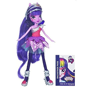 My Little Pony Equestria Girls Twilight Sparkle Doll - Rainbow Rocks by My Little Pony TOY (English Manual)