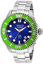 Invicta Pro Diver Automatic Blue Dial Stainless Steel Mens Watch 20173