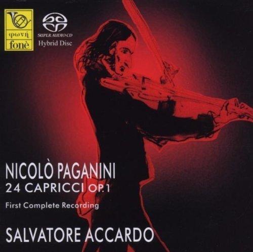 SACD : PAGANINI / ACCARDO,SALVATORE - Nicolo Paganini: 24 Capricci Op 1 (2 Discos)