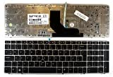 HP EliteBook 8560p With Pointer Silver Frame Black UK Replacement Laptop Keyboard
