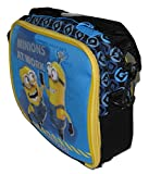 Despicable Me Insulated Blue Lunch Bag - Danger! Minions At Work
