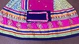 Angelnx Womens Silk Lehenga Choli (Pramukh-M18_Pink_Free Size)